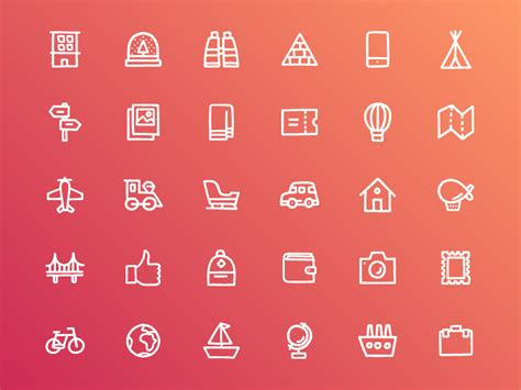 icon sets ios android  social flat web