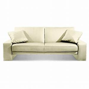 white faux leather sofa bed With sofa bed free delivery
