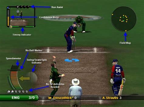ea cricket   pc game    information