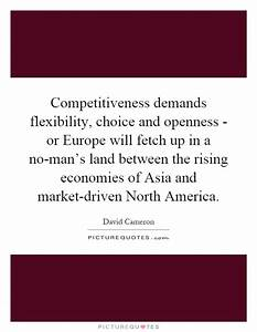 Competitiveness... Upmarket Quotes