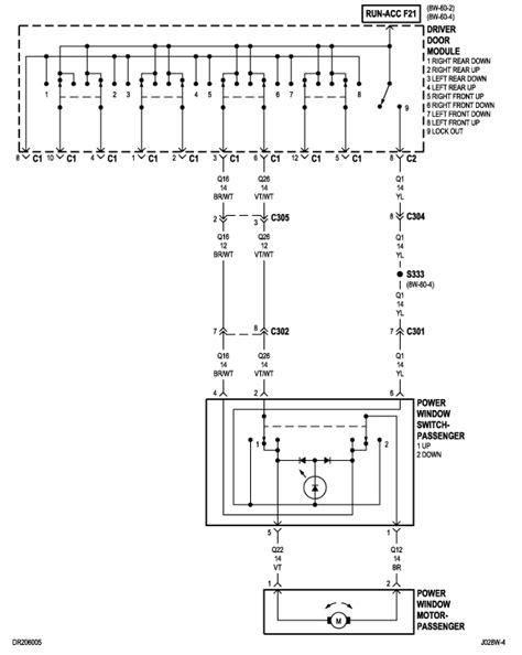 Dodge Ram 1500 Window Wiring by I Am Looking For A Wiring Schematic For The Power Windows