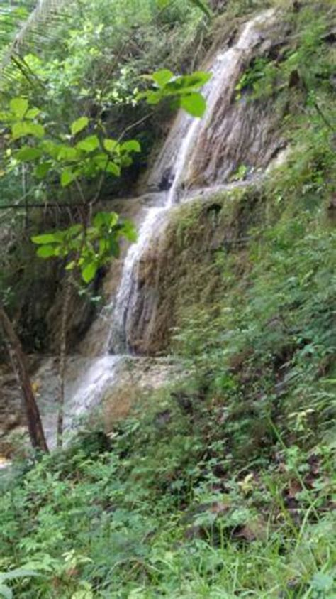 Rainy Waterfall Is Located In Kedungdawa  Picture Of