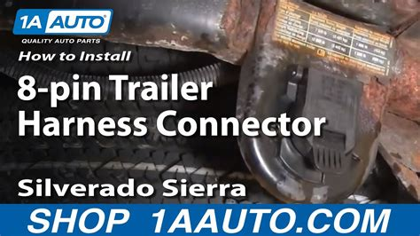 How Install Replace Pin Trailer Harness Connector