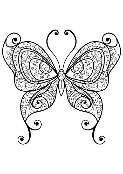 mandala animali da colorare pdf insetti 33874 farfalle e insetti disegni da colorare