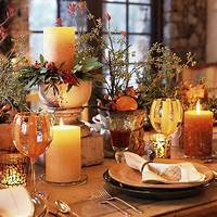 thanksgiving table centerpieces Top 10 Thanksgiving Home Decorating Ideas Pinterest ...