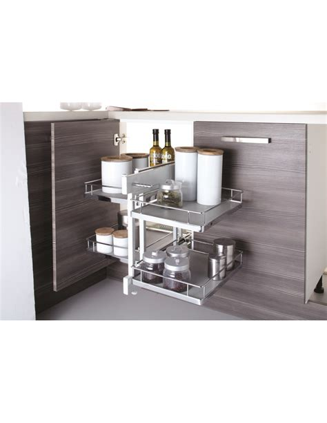 corner storage units for kitchens new innostor pull out corner shelving suits 800mm corner 8372