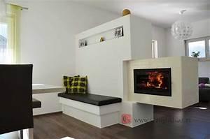Ofen Als Raumteiler : wohnzimmer modern mit ofen ~ Sanjose-hotels-ca.com Haus und Dekorationen