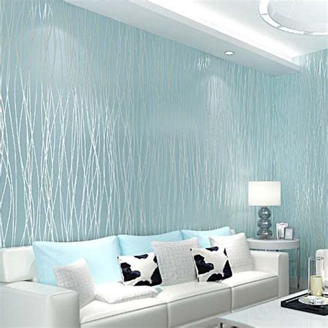 3d 10m Wallpaper Bedroom Living Mural Roll Modern Wall