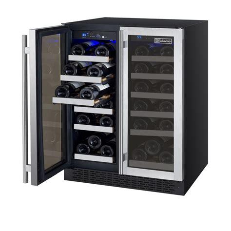 allavino vswr ssfn flexcount series wine refrigerator