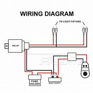 Product description for Relay switch wiring diagram as well driving lights relay switch wiring