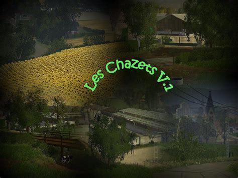 chazets map   mod farming simulator   mod