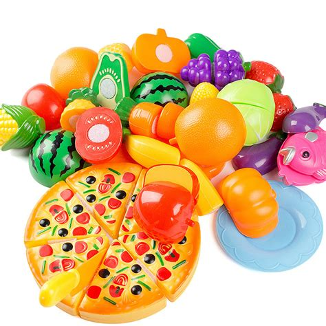 pvc cuisine aliexpress com buy 24 pcs set pretend play