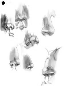 Pencil Drawing Nose