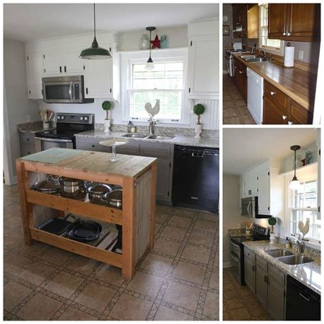 hometalk a diy kitchen makeover on a small budget diy farmhouse kitchen makeover for 5000 including