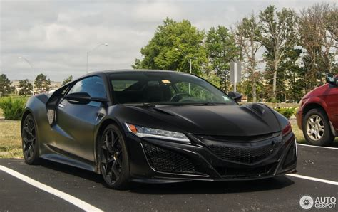 acura nsx black matte black acura nsx sighted in columbus