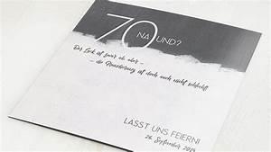 Geburtstagseinladungen Selber Gestalten : einladungskarten 70 geburtstag selbst gestalten ~ Watch28wear.com Haus und Dekorationen