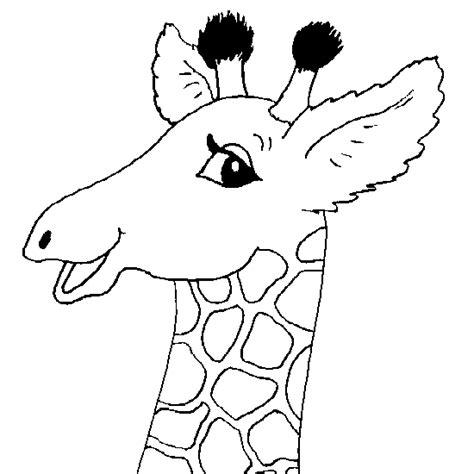 coloriage de girafe coloriages d animaux 224 imprimer
