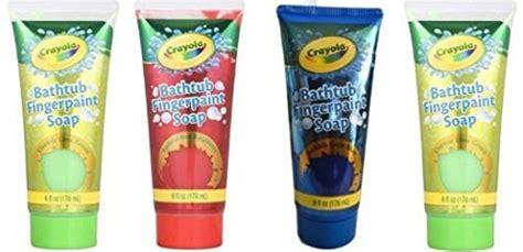 crayola bathtub fingerpaint soap crayola bathtub fingerpaint new colors