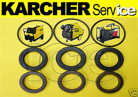 karcher hd hds washers seals kit 645 745 750 755 1000 ebay
