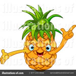 Cartoon Pineapple Clip Art