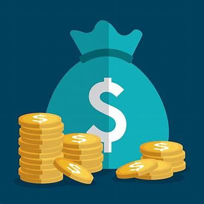 Money Illustrations Saving Bag Clip Business Illustration