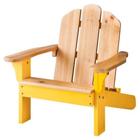 wood patio adirondack chair yellow room target