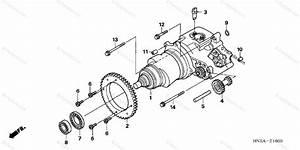 Honda Atv 2008 Oem Parts Diagram For Hondamatic