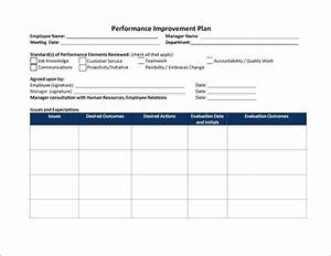 performance management action plan template choice image With performance management action plan template