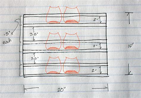 shoe storage dimensions wood shoe rack plans