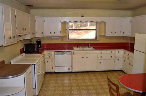 50s style kitchen cabinets kitchen ideas 3923