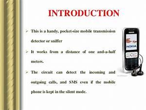 Circuit Diagram Of Mobile Detector