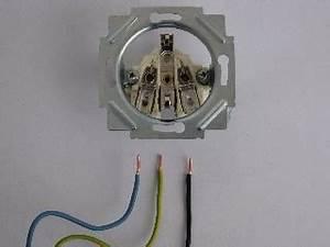 Lampe Anschließen 2 Kabel Ohne Farbe : anleitung steckdose anschlie en ~ Orissabook.com Haus und Dekorationen