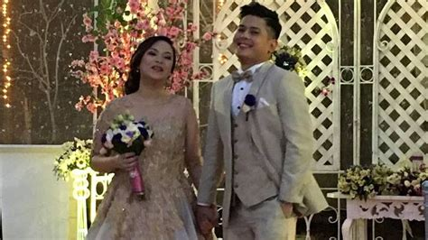 joseph bitangcol and non showbiz frenchesca tonson are now married pep ph