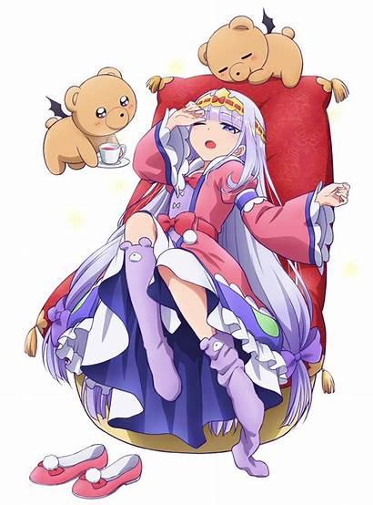 Demon Sleepy Castle Princess Anime Teaser Visual