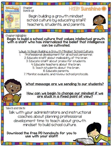 sunshine mindsets   classroom ch  building