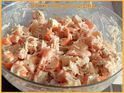 cuisiner le surimi les meilleures recettes d 39 ananas et riz