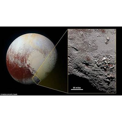 Pluto's 'mysterious 'yellow' north pole revealed in