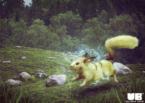 Pikachu In Real Life By Baltasarvischi On Deviantart
