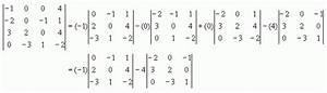 Determinante Berechnen 4x4 : topic determinante 2 5 forum toni milun ~ Themetempest.com Abrechnung