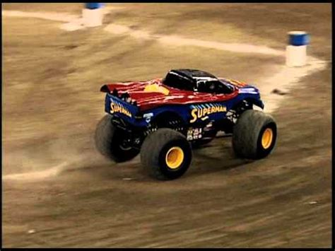 superman monster truck videos monster jam superman vs batman monster truck rogers