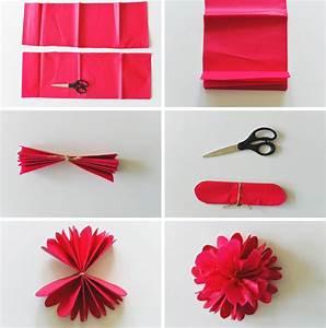 Bricolage Facile En Papier : 10 diy pour fabriquer des fleurs en papier alsh paper ~ Mglfilm.com Idées de Décoration