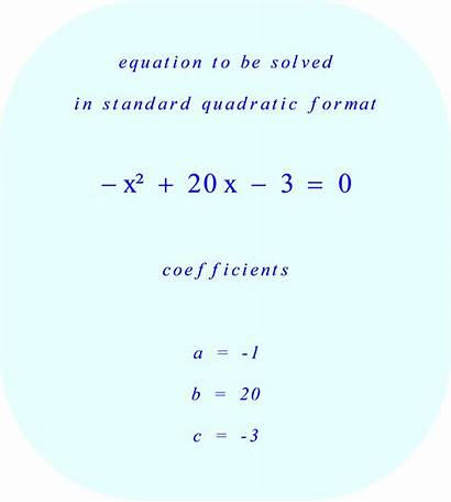 Quadratic Equation Solve Solving Problems Math 20x