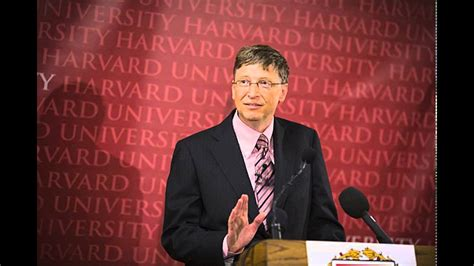 - Motivational - Bill Gates Speech at Harvard - YouTube