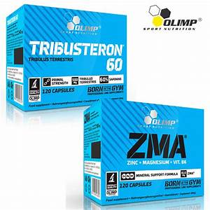 Tribusteron 60  U0026 Zma 30  240caps Testosterone Booster Muscle Growth Test Anabolic