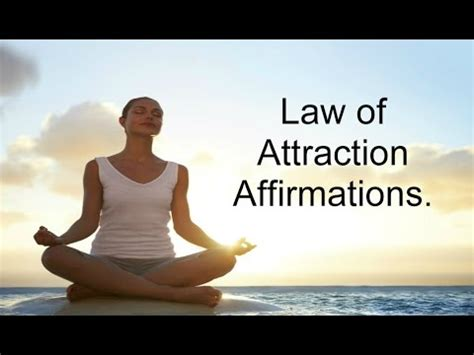 affirmations of attraction