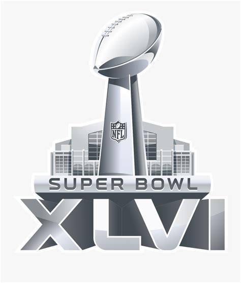 Super Bowl Trophy Png Super Bowl Xlvi Logo Free