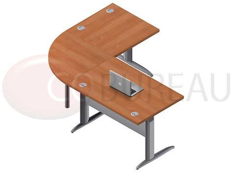 pro bureau ensemble bureau cadre 120 cm pro métal avec angle de