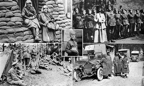 images show brave women fighting  world war  daily