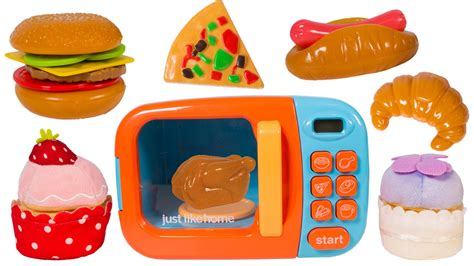 cuisine toys r us just like home microwave oven kitchen set cooking
