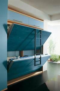 comment bien choisir un meuble gain de place en 50 photos With nice meuble pour studio petite surface 4 lit escamotable gain de place